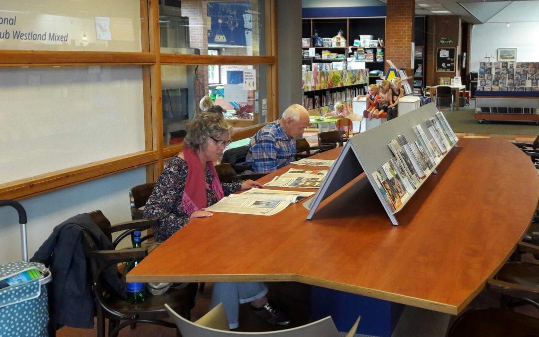 Ontmoeten doe je overal – in de bibliotheek