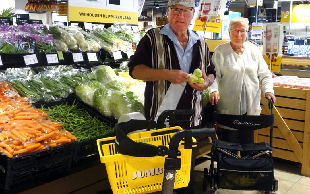 Ontmoeten doe je overal – supermarkt, Jumbo Koornneef