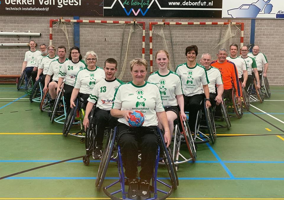 Clinic rolstoelhandbal
